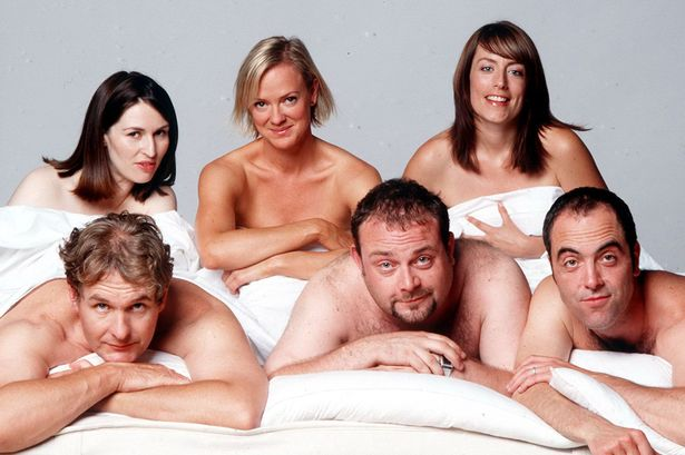 Q35 What late 90s early 2000s ITV series followed the romantic trials and tribulations of Adam and Rachel, Pete and Jenny, and David and Karen? Cold Feet