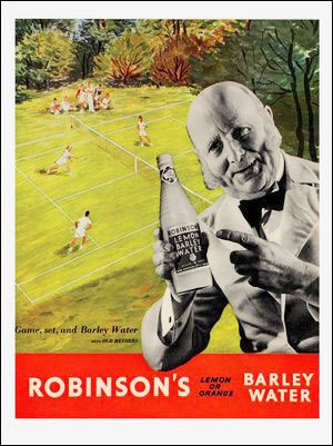 Q28 Anything else just isn't tennis was which Wimbledon associated companies advertising strapline? Robinsons (Barley Water)