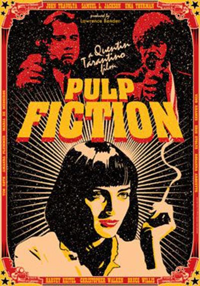Q39 Jules Winnfield, Vincent Vega and Mia Wallace are all central characters in which classic 1994 movie? Pulp Fiction