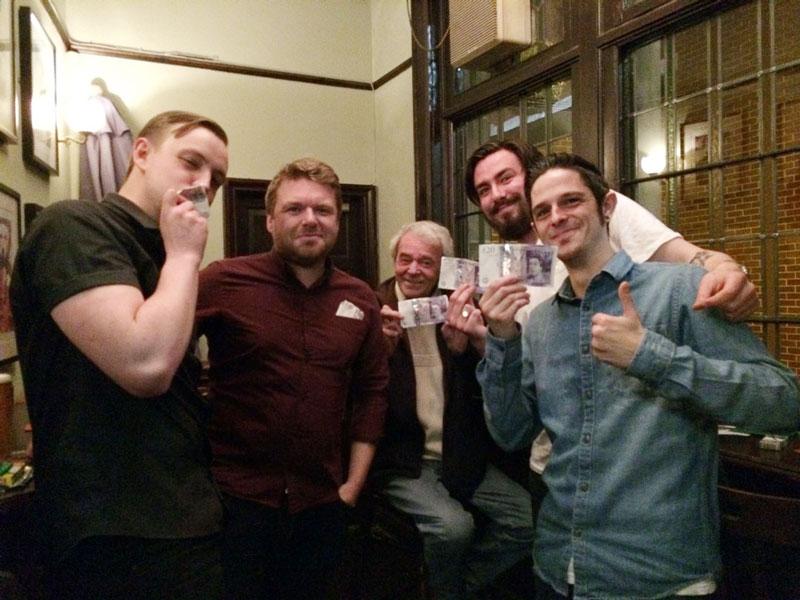 Rascal Ferrets On Vibezz celebrating their £110 Cash Prize winnings.
