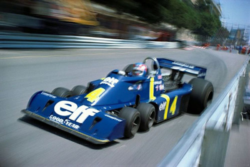 Q28 What was unusual about the Elf-Tyrrel P34 F1 car that made it's debut appearance at the 1976 Spanish Grand Prix? It had six wheels (four at the front)