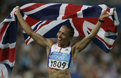Q30 Who became Britain's golden girl in the Athens 2004 Olympics by winning both the 800 and 1500 metres? Kelly Holmes