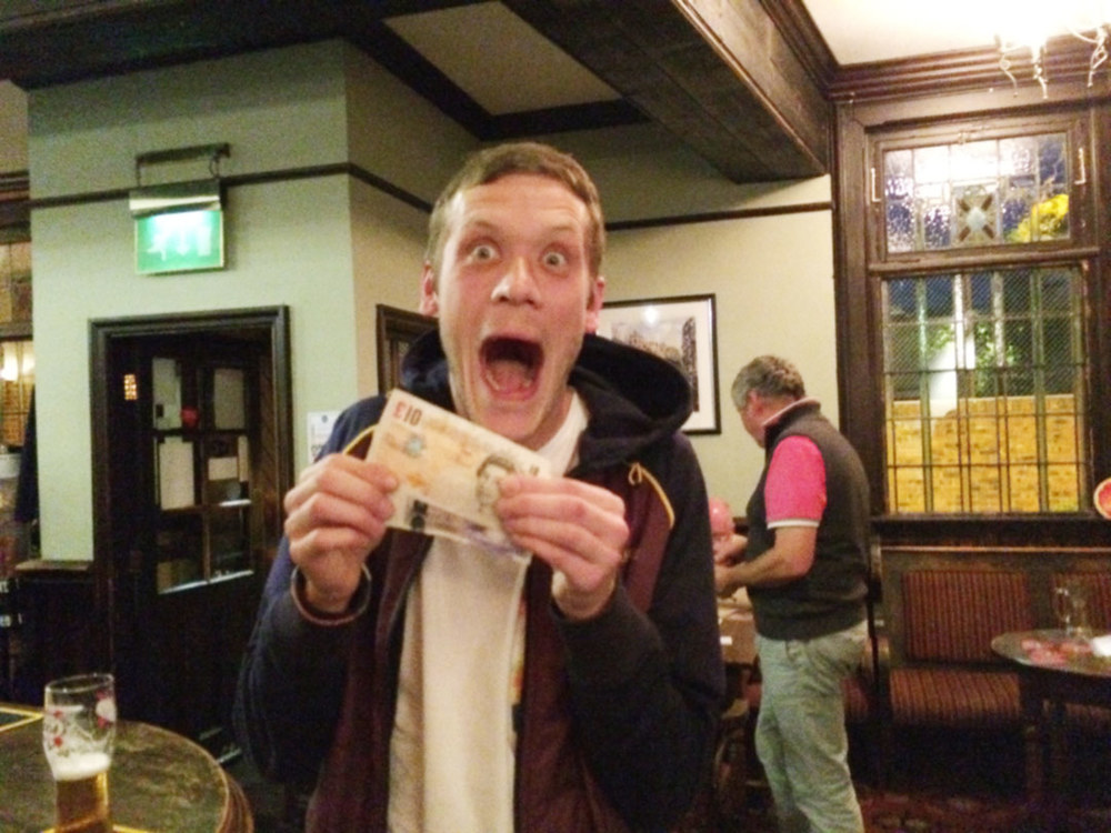 Scouse  was made up with his £33 Wild Card, not a bad return for a quid.