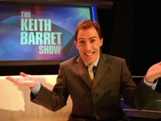Q37 Which Welsh comedian hosted the spoof BBC chat programme The Keith Barret Show? Rob Bryden