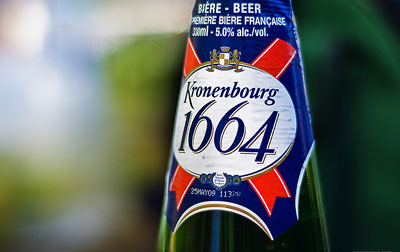 Q01. In 1664 which brewery was founded by Geronimus Hatt in Strasbourg, France? Kronenbourg