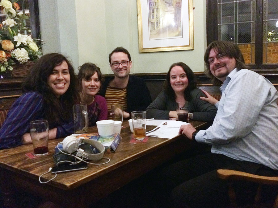 Our winners Spontaneous Wrecks Was Last Wednesday, Tickets Still Available! didn't score for the Cash Prize but the Food Vouchers gave them £15 worth of top Burgers and Thai Curries!