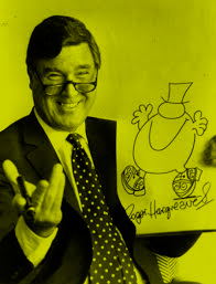 Q02 What series of books is Roger Hargreaves famous for writing? The Mr Men