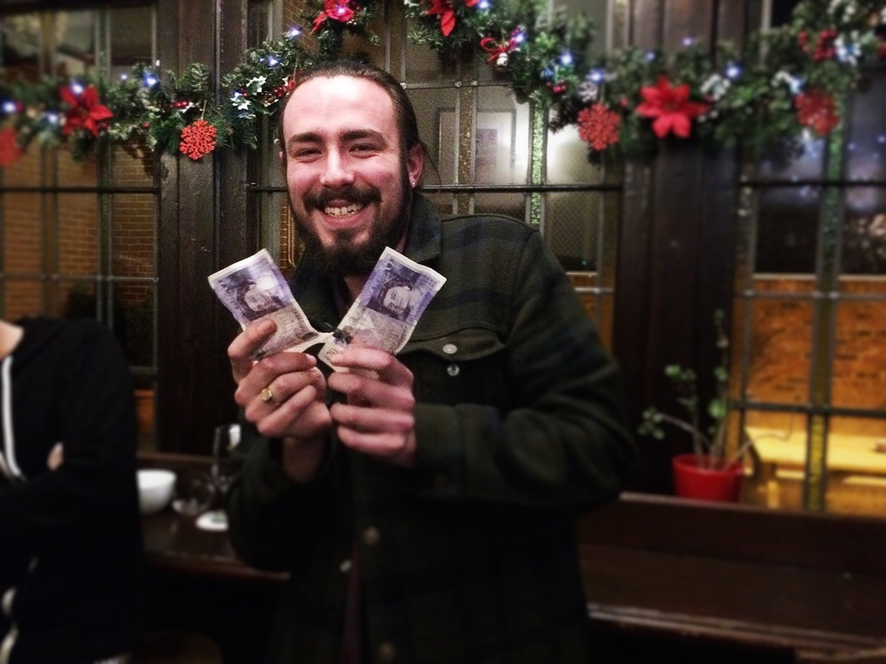 Jay a member of the Christmas Special Winning Team put the majority of his winning share (£7) into the Wild Card and won that as well. Great little bonus for Christmas.
