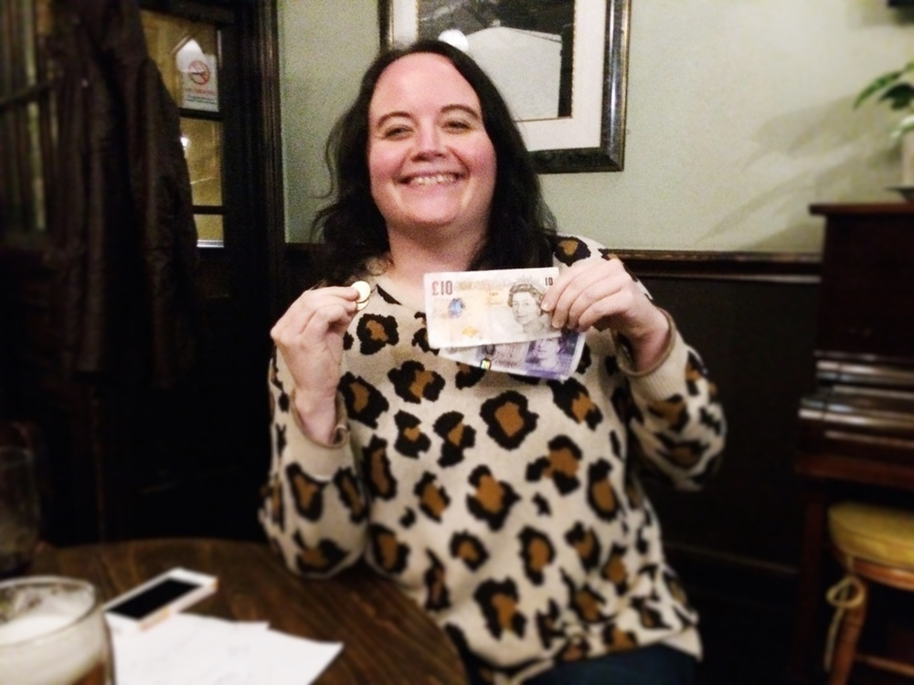 Louise T  was over the moon with her £32 Wild Card win!