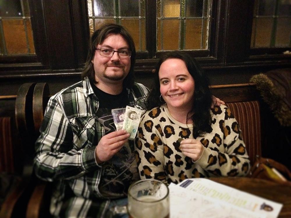 Jon F  from  Spontaneous Wrecks  got himself a tidy £26 in ready cash by winning the Wild Card