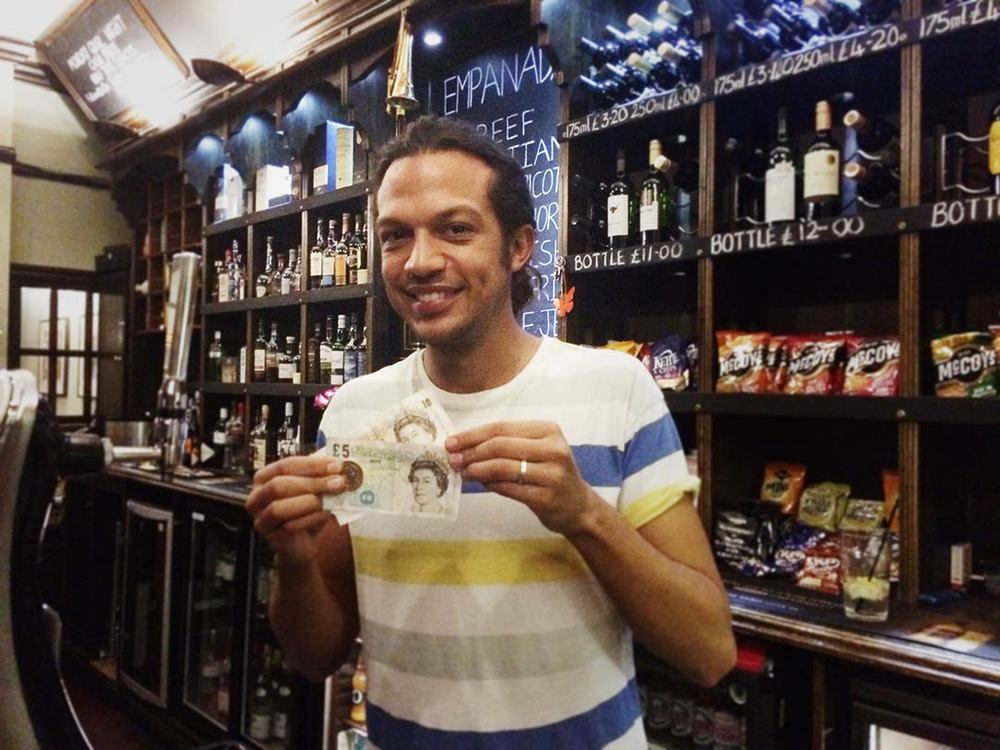 It's been quite a while since Chris won the Wild Card but it was worth sticking the £2 in this week!