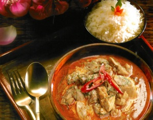 Get here early and try our well spicy Thai Curries