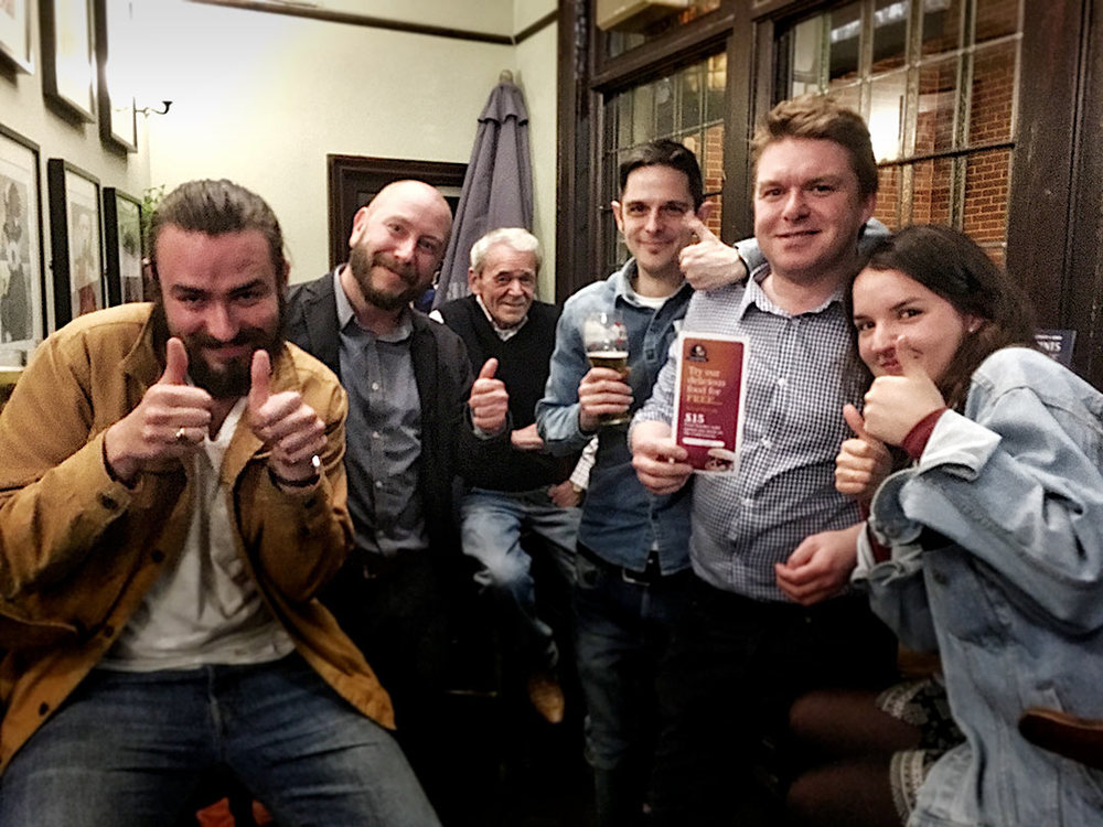 A cracking final round and a nervy Dart Off but our Winners  Rascal Ferrets On Gorilla Vibes drew the Food Vouchers at the last Quiz.