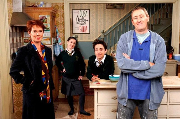 Q37. What was the title of the 2007 BBC Comedy where former plonker Nicholas Lyndhurst played the character of 'Jimmy'? After You've Gone