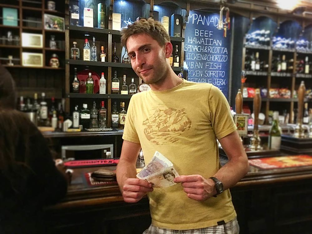Quiz 228s Wild Card Winner was Alex B who walked away with £34 for a £1 stake... not a bad finale to a decent night out.