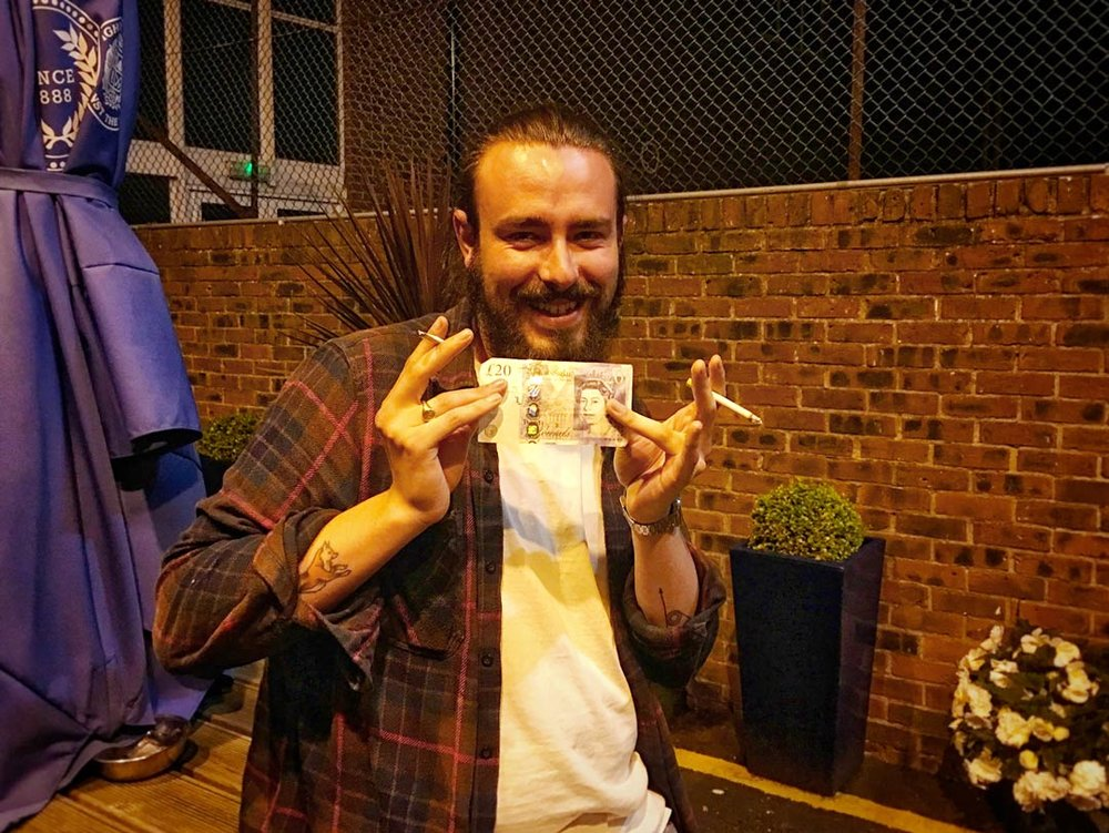 Jay always puts a couple of quid in for the Wild Card and this week it paid off (eventually!)