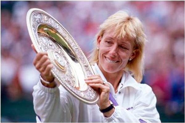 Q24. Who has won the most Wimbledon Ladies Singles titles to date? Martina Navratilova