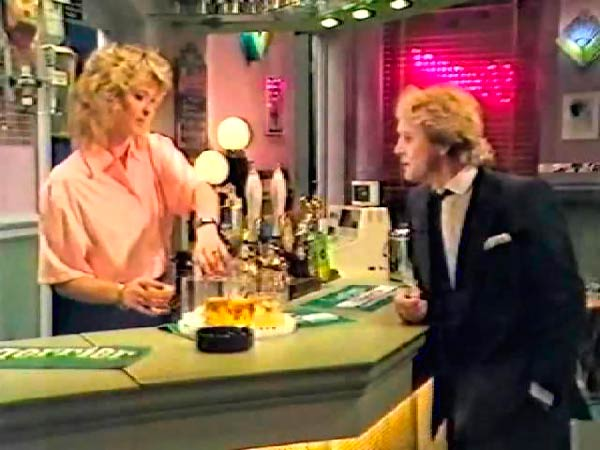 Q38. What was the name of the EastEnders pub run by James Willmott-Brown which was torched by Dirty Den in 1988? The Dagmar