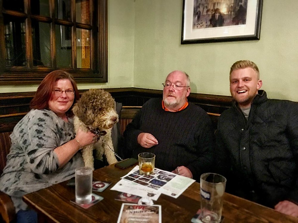 They're on a roll, last week called We're Only In It For The Money! theses guys won the Quiz by a margin of eight points. Beat them and you are almost guaranteed a crack at drawing for £230.