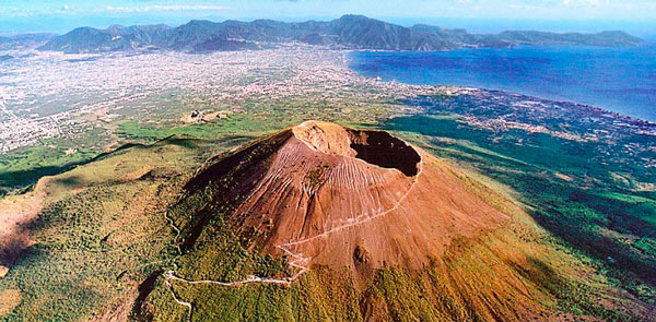 Q01. What is the name of the volcano which destroyed Pompeii in AD79? Vesuvius