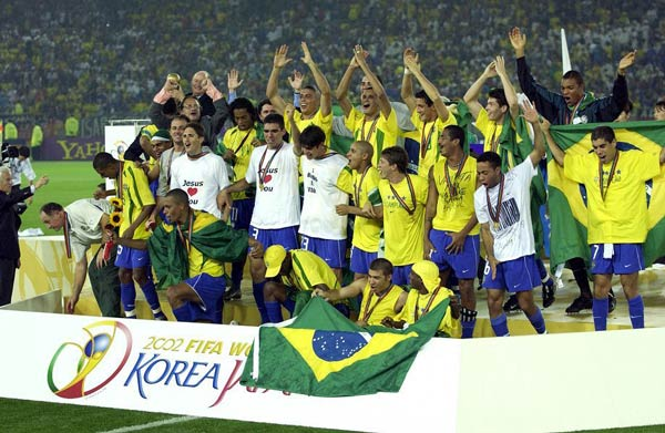 Q28. In what year was the FIFA World Cup final played in Yokohama? 2002
