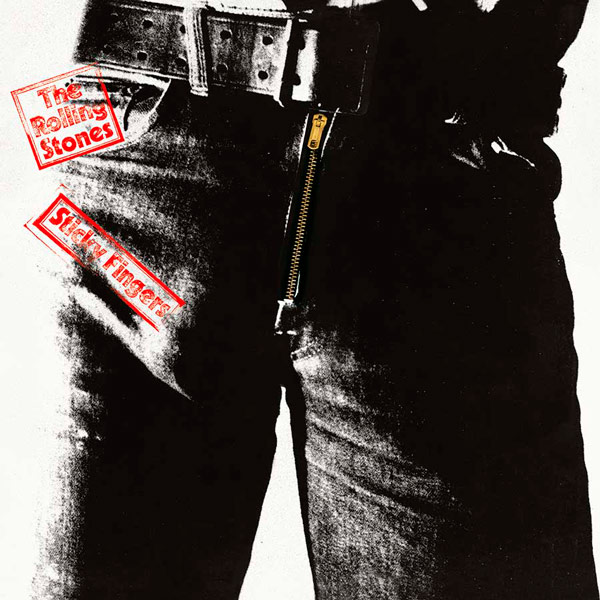 Q16. Which artist is credited with the idea for the zipper album cover of the Rolling Stone's 1971 album Sticky Fingers? Andy Warhol