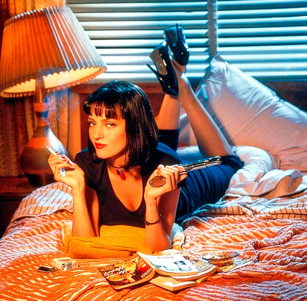 Q34. You won't know the facts until you've seen the fiction was a tagline for which classic 1994 film? Pulp Fiction