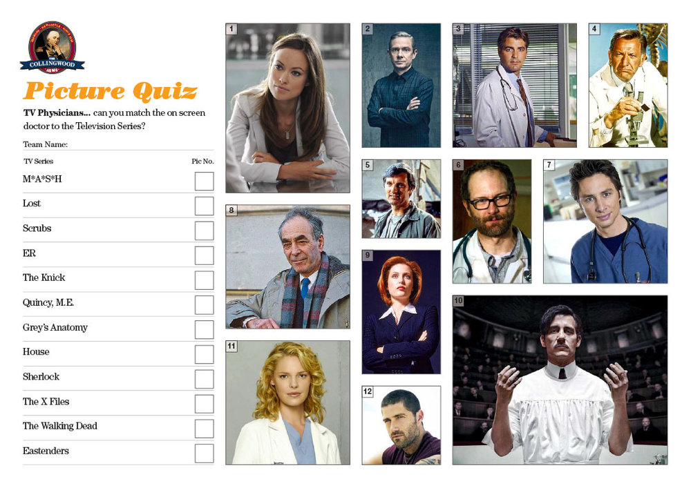 "The Picture Round clue on the  Quiz Preview  this week was ""Multiple transmissions contain quacks"""