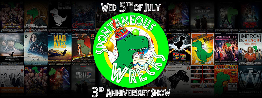 Blatant plug for the Spontaneous Wrecks Show this Wednesday at The Bridge. Improv Comedy in the style of 'Whose Line Is It Anyway?' Great show, get down there for a giggle!