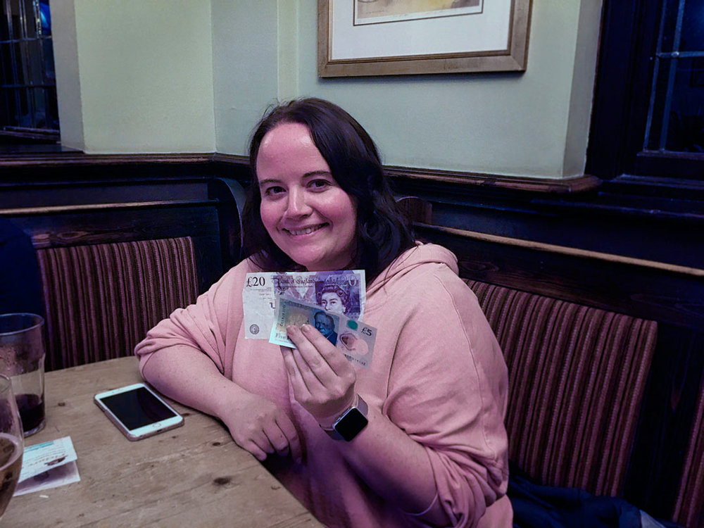Louise T had an inspired guess to win the Wild Card and finish the night £25 better off!