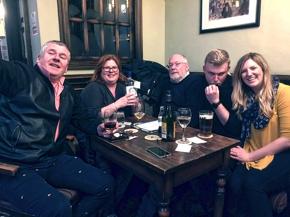 Our Charity Quiz Winners Roger And Out also drew the Cash Prize on the night but generously donated it to start us off at next weeks quiz!