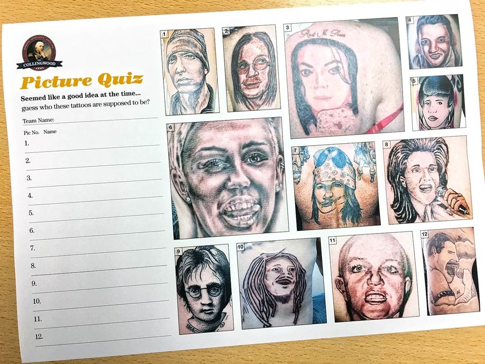 """The clue on the  Quiz Preview  was """"Hearing All The Things She Said, it seemed like a good idea... at the time!"""""""