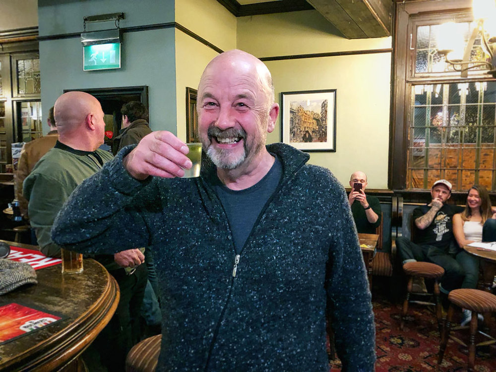 We nearly forgot the Wild Card Booby Prize… but Neil was happy we didn't!