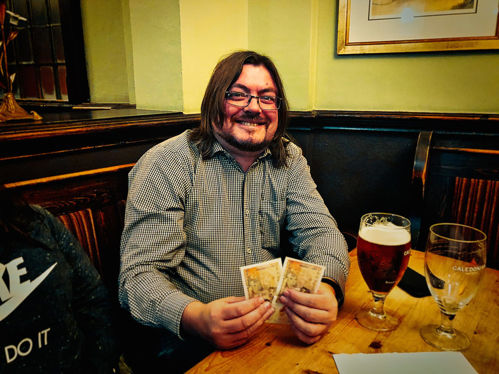 Jon F plucked a random figure out of the air and scored for the £21 Wild Card!