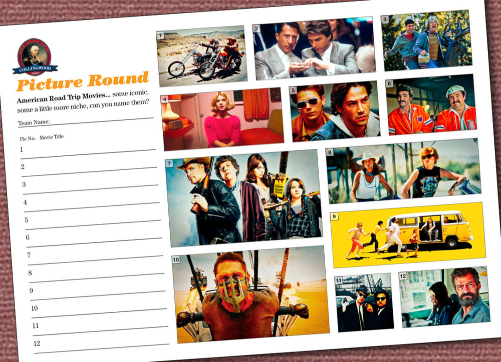 """The clue on the  Quiz Preview  this week was """"The best of Are we there yet?"""". Like this Picture Round? Check out  The QuizMaker  website for loads more."""