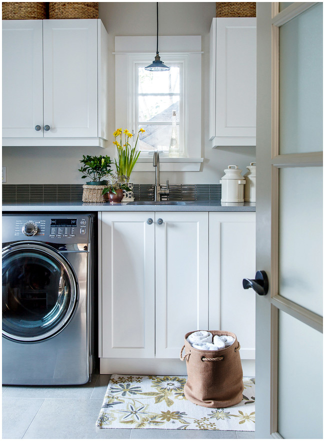 When I Was A Kid Our Laundry Room Wasnt Per Se But Corner Of The Unfinished Basement Where Utility Sink And Washer Dryer Resided