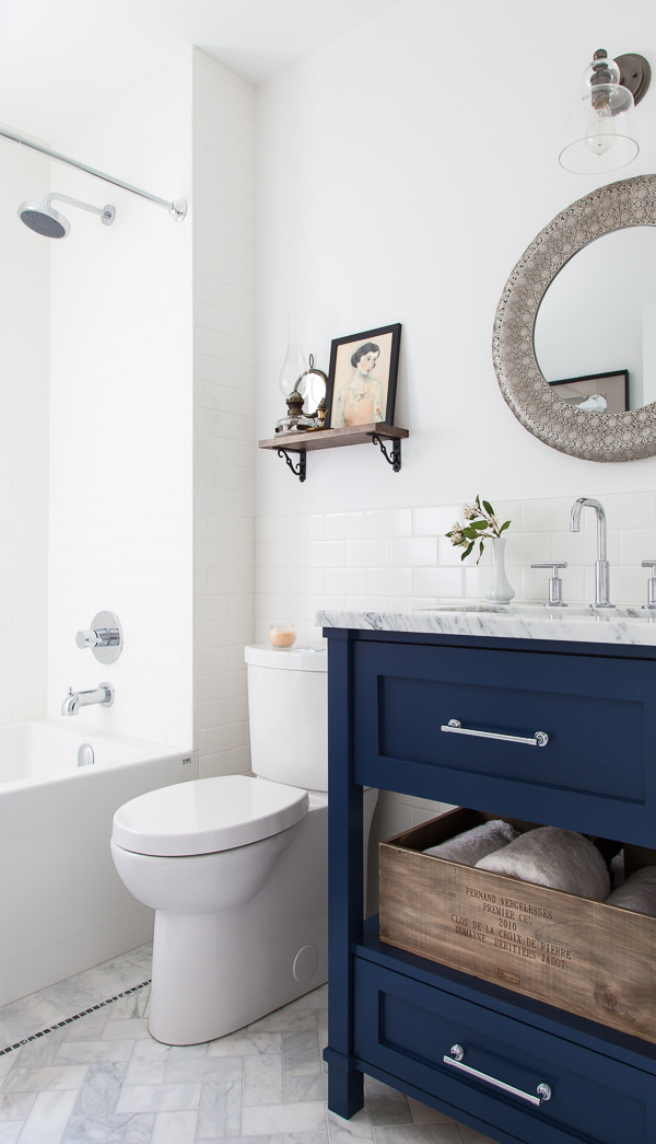 bathroom makeover paint colors