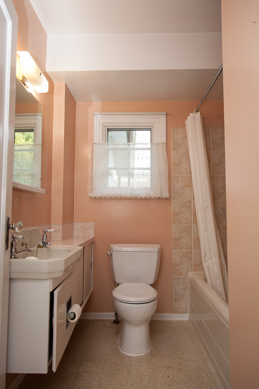 The Little Bathroom: Before
