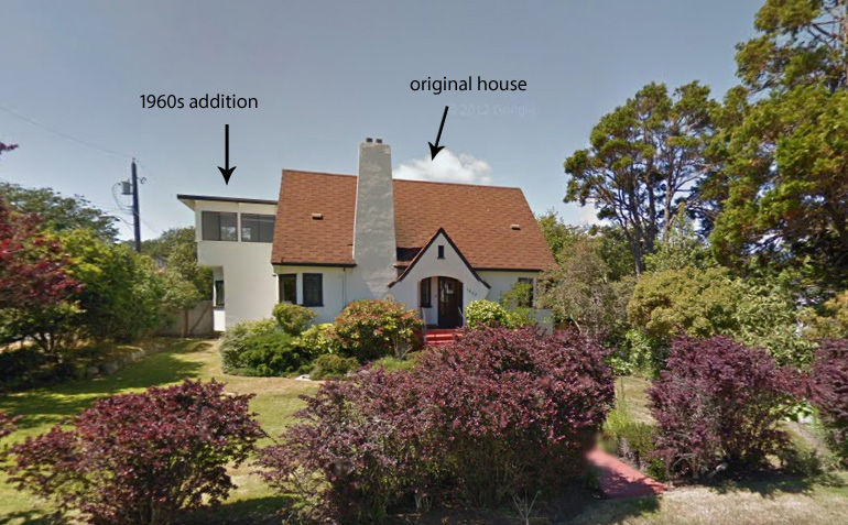Exterior, Front (Google Streetview): Before