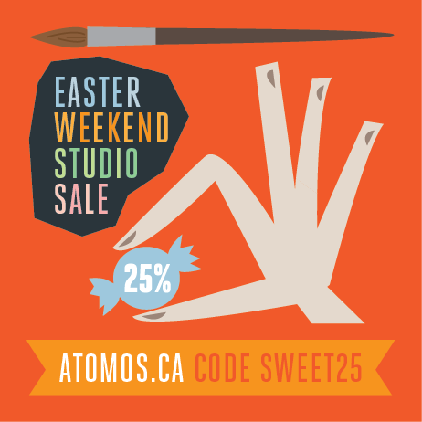 Easter Weekend Studio Sale! Enjoy my Easter Long Weekend Studio Sale!Use the CODE sweet25 to get 25% off all my paintings. American shoppers get almost 40% off with the currency exchange. Sale end Monday.