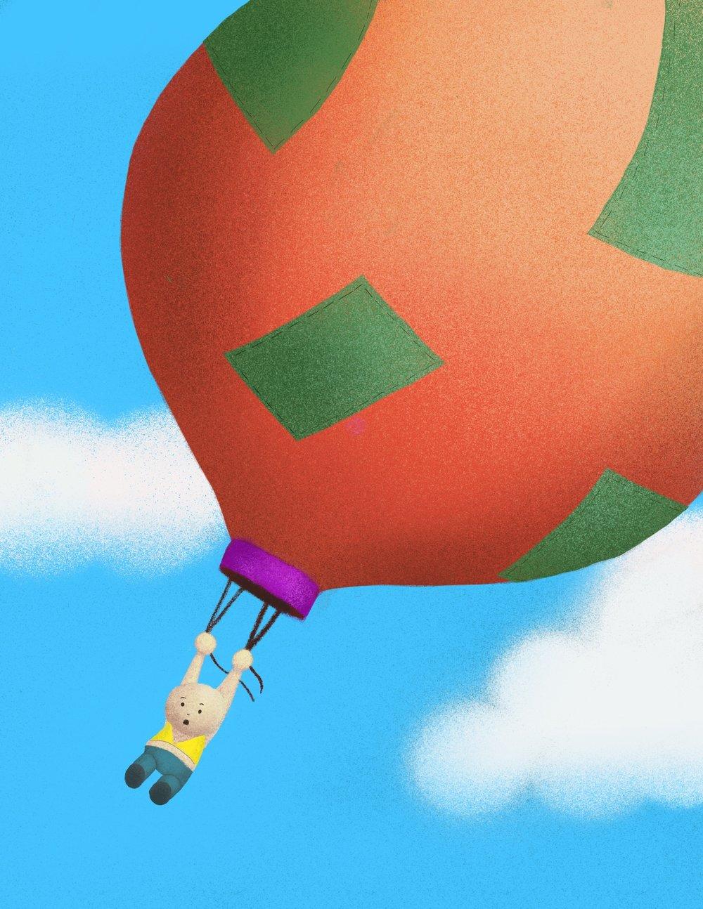 balloon travel - cheaper than an airplane ticket, riskier than driving