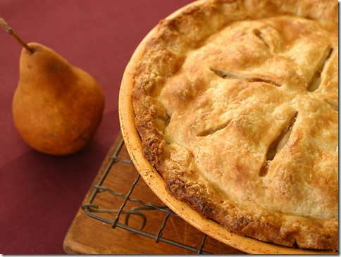 Mrs. Merry Berry's Particularly Piggy Pear Pie