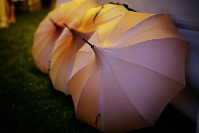 Architecturally speaking, an umbrella is a divine design.