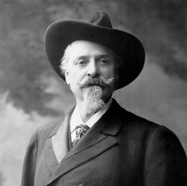 John Stetson wearing the original Stetson hat
