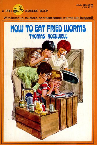 How to eat fried worms childrens book critique eye on educators ccuart Choice Image