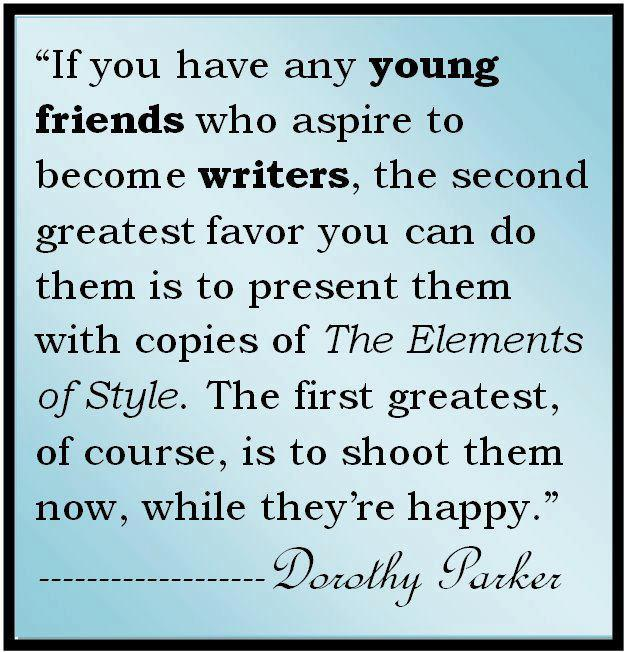 dorothy essay parkers Read more from dorothy parker on the new yorker.