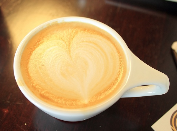 Tahitian Vanilla Latte from Comet Coffee in St. Louis.  Photo by Michelle PG Richardson ©