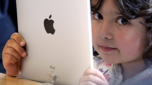 Source: 5 Reasons Why the IPad Was Made to Keep Parents Sane.  CNN Tech.