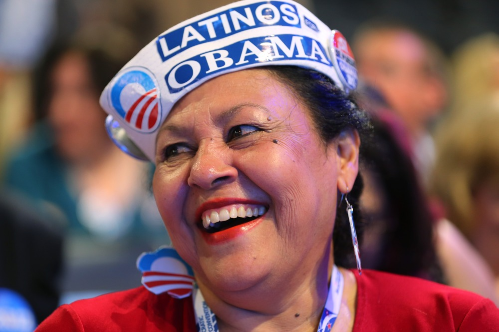 There were lots of people wearing this, but I loved this woman's energy. She's an Obama Mama for sure