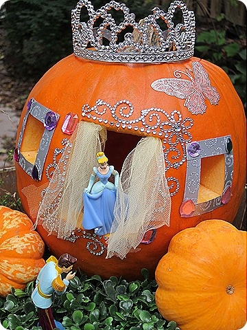 Cinderella Pumpkin - Pinterest, Lori Edwards